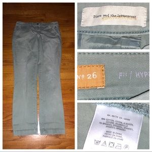 ANTHROPOLOGIE Hyphen Fit Jeans Size 26 X 30